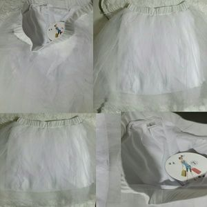 Mini Skirt Lined Flare Tutu Skirt- Size L